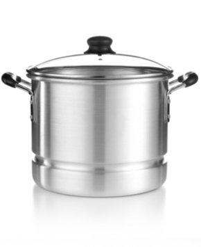 Imusa IMUSA Covered Aluminum Steamer Pot, 12 Qt.