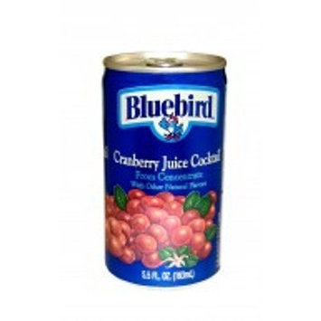 Bluebird Cranberry Juice Cocktail, 5.5-Ounce Cans (Pack of 48)