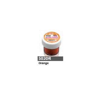 1/2 Ounce Orange Acrylic Powder by Sassi for Beautiful Nails
