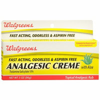 Walgreens Analgesic Creme