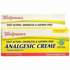 Walgreens Analgesic Creme
