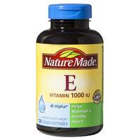 Nature Made Vitamin E 1000 I.U. Softgels - 120 Count