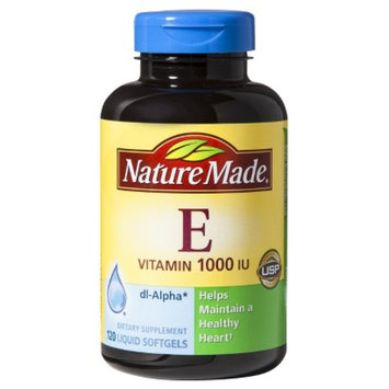Nature Made Vitamin E 1000 I.U. Softgels - 120 Count