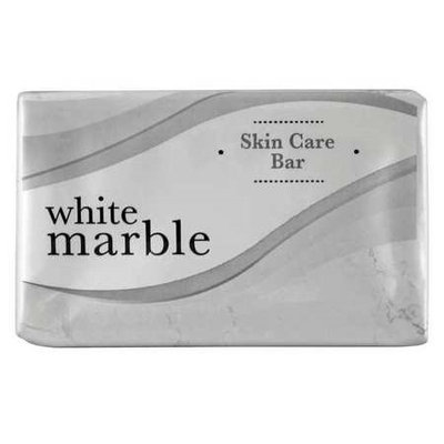 WHITE MARBLE TONE DW00417 Bar Soap, Fresh,1-1/2,PK500