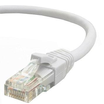 Mediabridge Cat5e Ethernet Patch Cable (100 Feet) - RJ45 Computer Networking Cord - White - (Part# 31-299-100B )
