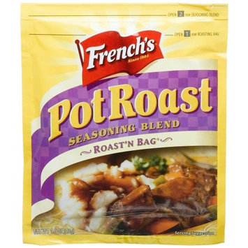 Frenchs French's Flavor 'N Bag Seasoning Mix for Beef, Pot Roast, 1.5-Ounce Packets (Pack of 12)