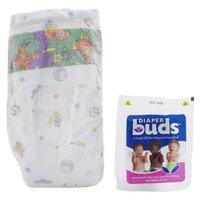Diaperbuds MultiPack Bag, Size 4, 8 Count