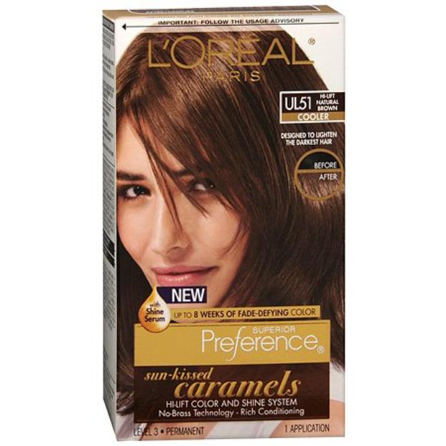 L'Oréal Superior Preference Sun-Kissed Caramels