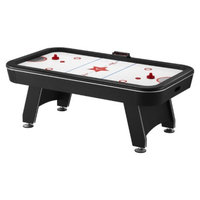 GLD Products Fat Cat Arctic Ice Air Hockey Table - Black/White (7 feet)
