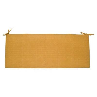 Threshold Outdoor Bench Cushion - Yellow Textured