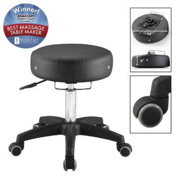 Master Massage Chair: Adjustable Rolling Massage Stool