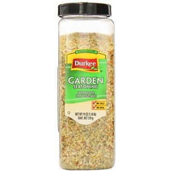 Durkee Garden Seasoning Salt Free, 19-Ounce Containers (Pack of 2)