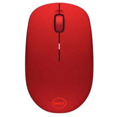 Dell Wireless Mouse-WM126 - Red