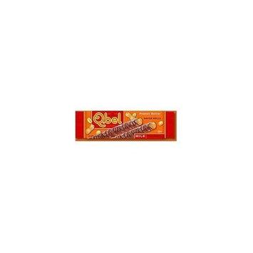 Q.Bel Wafer Rolls, Milk Chocolate Peanut Butter, 0.9-Ounce (Pack of 15)