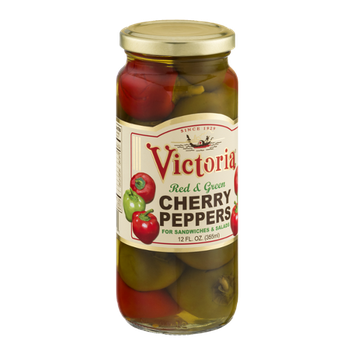 Victoria Cherry Peppers Red & Green