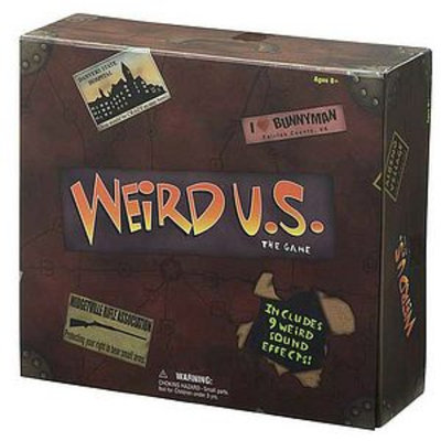 Sababa Toys Weird U.S. Board Game ages 8+, 1 ea