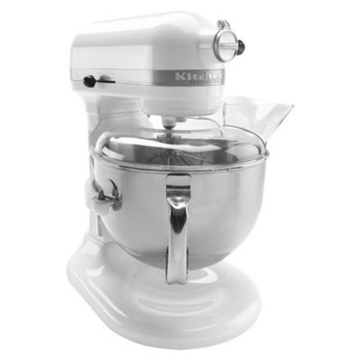 KitchenAid 6 qt. Professional 600 Series Stand Mixer - White