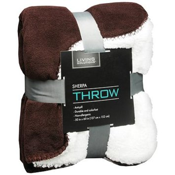 Living Solutions Sherpa Throw 50X60 Pattern Varies