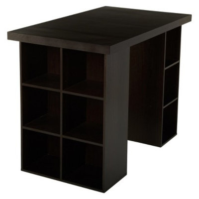 Target Counter-Height Table: TMS Counter Height Craft Table - Dark