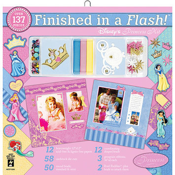 Hot Off The Press Finished In A Flash Disney Princess Page Kit