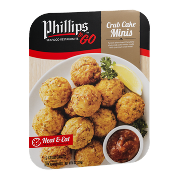 Phillips To Go Crab Cake Minis - 12 CT