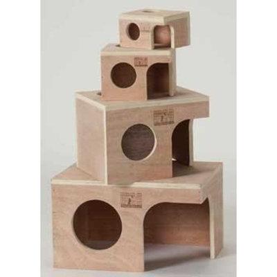 Prevue Wood Pet Hut Size: Medium