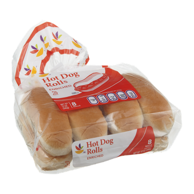 Ahold Rolls Hot Dog - 8 CT