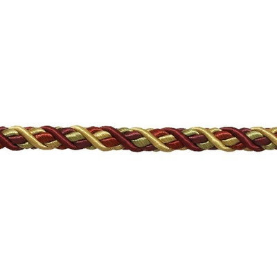 DecoPro Baroque Collection Trims Large WINE GOLD Baroque Collection 7/16