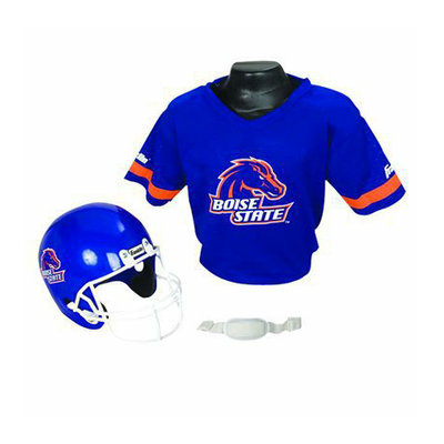 Franklin Sports Boise St. Helmet/Jersey set- OSFM ages 5-9
