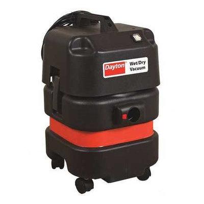 DAYTON 20X605 Wet/Dry Vacuum, 1.3 HP, 9 gal, 120V