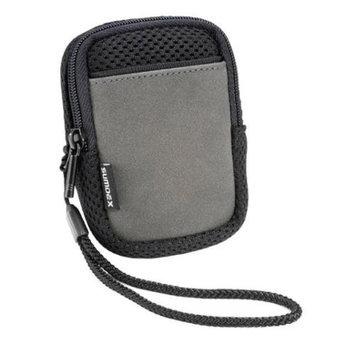 Sumdex Mini Camera Pouch w Wrist Strap in Black