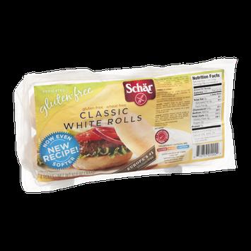 Schar Classic Rolls White Gluten-Free - 4 CT