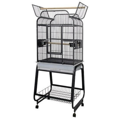 A E Cages A and E Cage Co. Opening Victorian Top Bird Cage