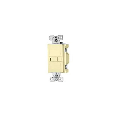Cooper Lighting Cooper Wiring VGFD20V Ivory GFCI Receptacle Blank Face