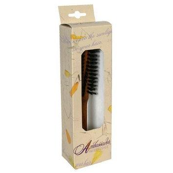 Ambassador Hairbrush, Curling Oakwood, 1 Hairbrush