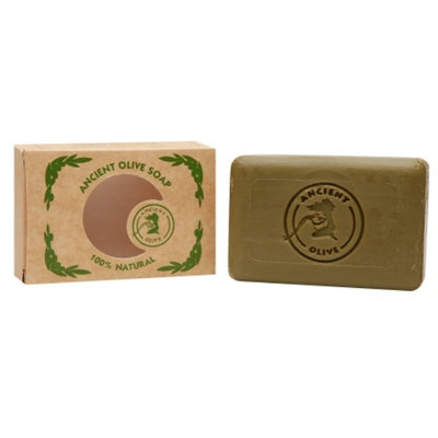 Ancient Olive Natural Olive Oil & Laurel Oil Molded Bar Soap, Natural, 3.53 oz