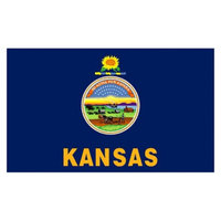 Annin Kansas State Flag - 4' x 6'