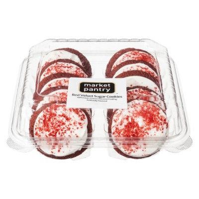 market pantry Market Pantry Red Velvet Sugar Cookies 13.5 oz