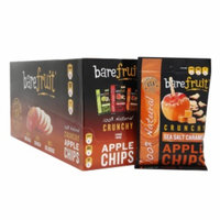 Bare Fruit 100% Natural Crunchy Apple Chips, Caramel, 16.9 oz