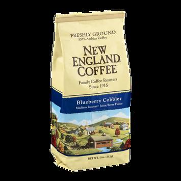 New England Coffee Blueberry Cobbler Medium Roasted Freshly Ground