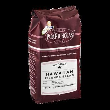 Papa Nicholas Coffee Ground Hawaiian Islands Blend Light