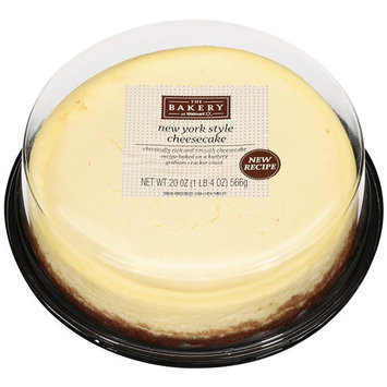 The Bakery At Wal-mart The Bakery At Walmart New York Style Cheesecake, 20 oz