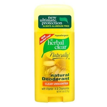 21st Century Herbal Clear, Unscented, 2.65-Ounce (Pack of 3)