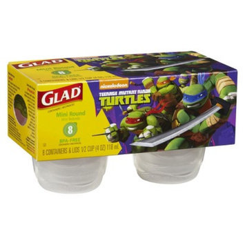 Glad Designer Series Containers Mini Round 8 ct