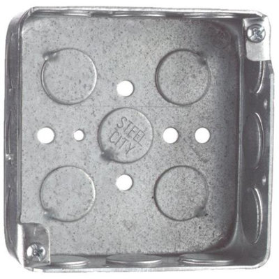 Thomas & Betts 4x4x1-1/2 Square Box 521511/230