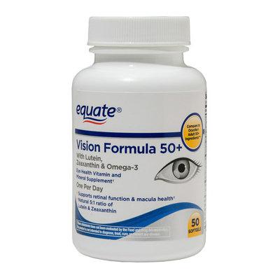Equate Vision Formula 50+ Tablets