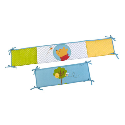 Disney Winnie the Pooh Infant's Crib Bumper - CROWN CRAFTS INFANT PRODUCTS, INC.