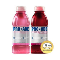 PRO FOODS Performance Protein Drink Assortment - Kiwi Strawberry & Black Cherry PRO ADE (Mini case - 8 bottles)
