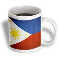 Recaro North 3dRose - Flags - Philippines Flag - 15 oz mug