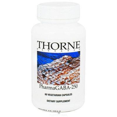 Thorne Research, PharmaGABA-250 60 Vegetarian Capsules